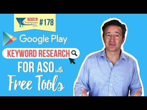 Google Play Keyword Research for ASO with Free Tools