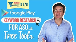 📱 Google Play Keyword Research for ASO with Free Tools