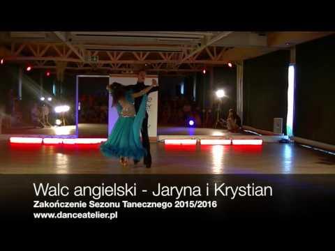 Walc - Jaryna i Krystian - Zakończenie Sezonu Tanecznego Dance Atelier 2016