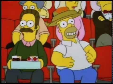 Homer Simpson Nacho Man