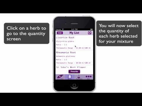 Herbatool - Easy Way to Prescribe Herbal Tinctures