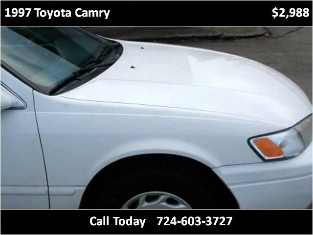1997 Toyota Camry Used Cars Connellsville PA Travel Video