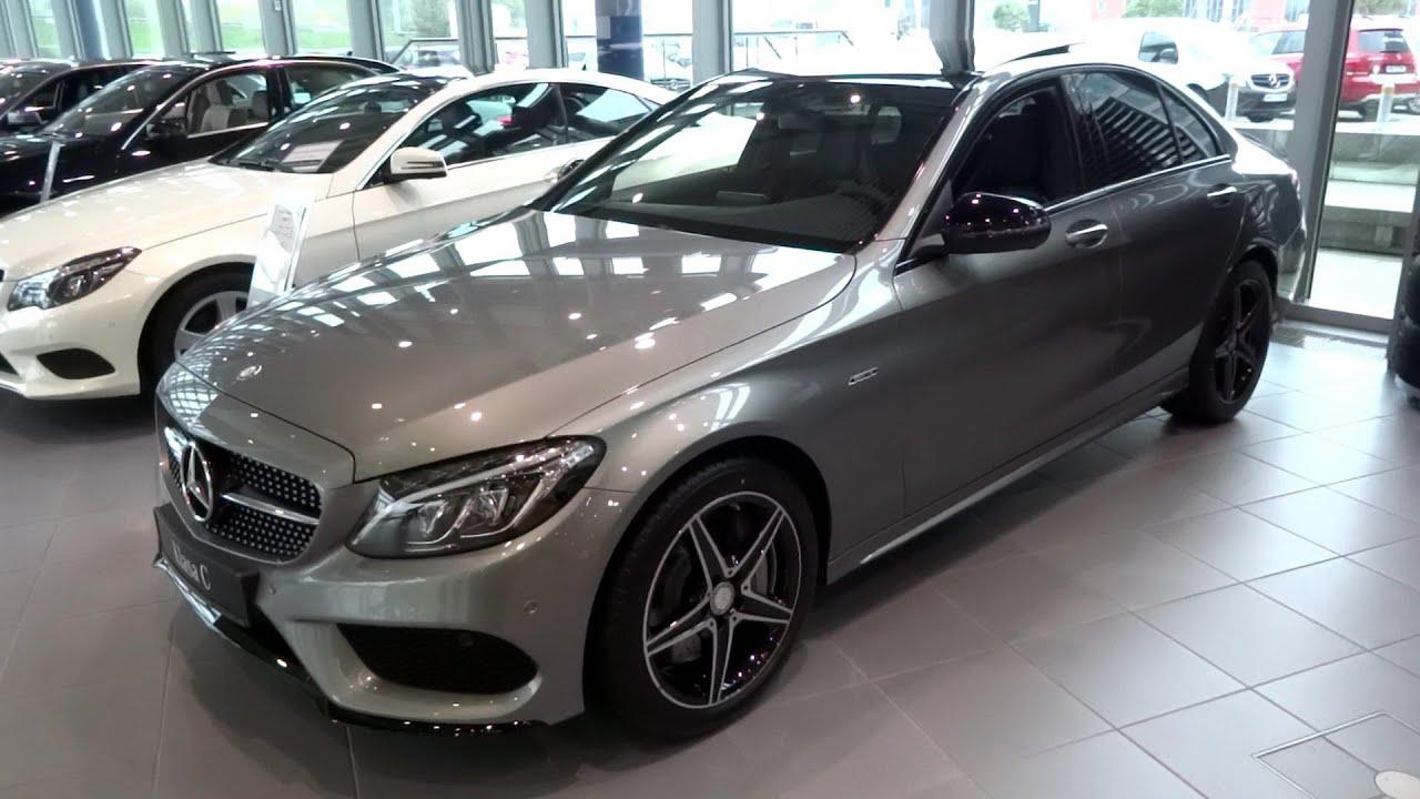 Palladium Silver Mercedes C