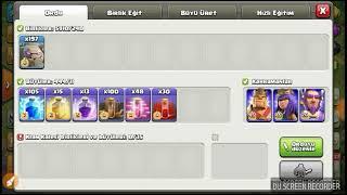 Clash of clans golemlerle ne saldırdım