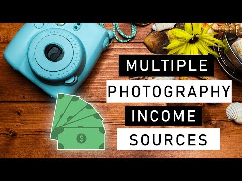Multiple Income Sources for Photography (My Thoughts for Beginner Photographers)