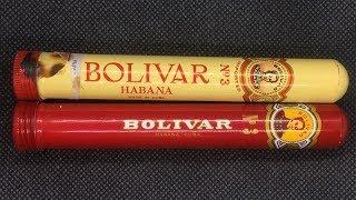Серия № 2 Винтаж VS Молодость Обзор и сравнение Кубинских сигар BOLIVAR TUBOS №3