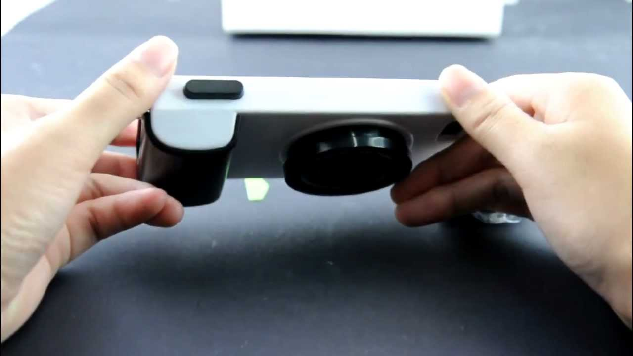 Icam Camera Styled Stand Hard Case For Iphone 5 Youtube