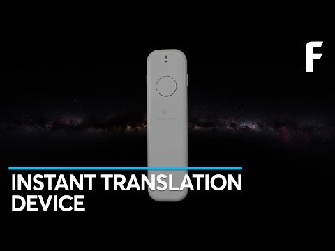 This Device Translates Any Language Almost Instantly