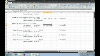 Tally ERP 9 Multiple Currency by Tarun PART 2