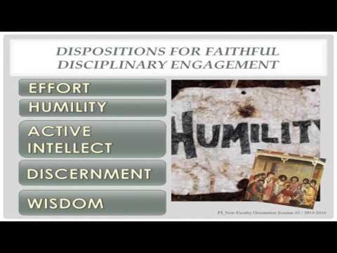 Faith Integration NFO #2 - Presented by Paul Kaak
