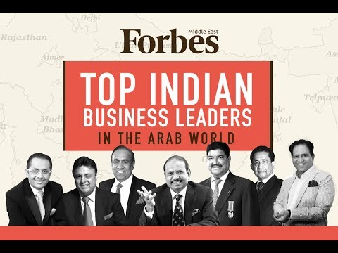 Top Indian Business Leaders In The Arab World 2018