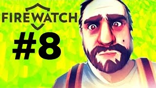 THE BIG FIRE in a forest DAY 64 || Firewatch #8