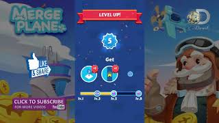 Merge plane | Android & iOS gameplay