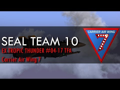 ArmA 3: ST10 | Exercise Tropic Thunder 04-17 Carrier Air Wing 7 TF Alpha