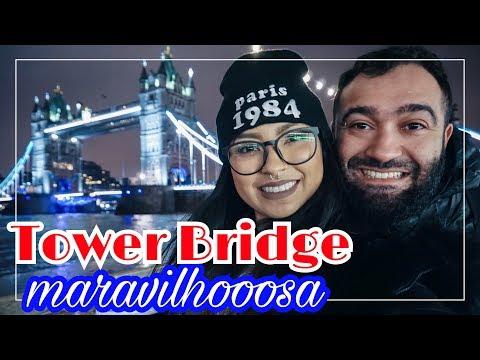 CORRENDO PRA VER A PONTE ABRIR!!! | LONDRES 🇬🇧 PARTE 2 | BINA VIAJA ✈️