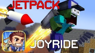 MONSTER SCHOOL : JETPACK JOYRIDE - Minecraft Animation