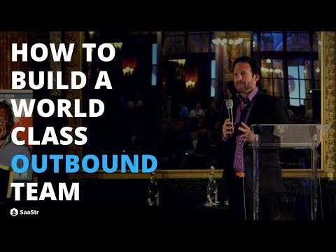 How to Build a World Class Outbound Team with Aaron Ross