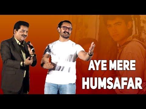 Aamir Khan, Udit Narayan sing Aye Mere Humsafar after 30 years of Qayamat Se Qayamat Tak