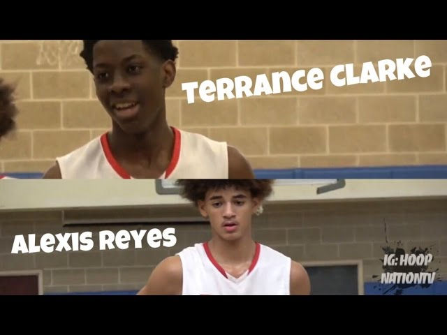 21 Terrance Clarke & Alexis Reyes Are A DYNAMIC DUO @ The 2017 AC Showcase ! - Bballspotlight