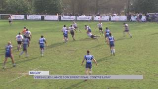 Rugby : Versailles lance son sprint final contre Limay