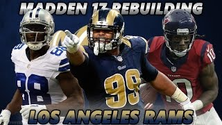 Madden 17 Connected Franchise | Rebuilding The Los Angeles Rams | SUPER BOWL REMATCH!