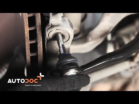 Jak wymienić końcówka drążka kierowniczego w BMW 5 E39 TUTORIAL | AUTODOC