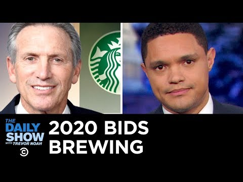 Everyone Hates Starbucks Billionaire Howard Schultz | The Daily Show