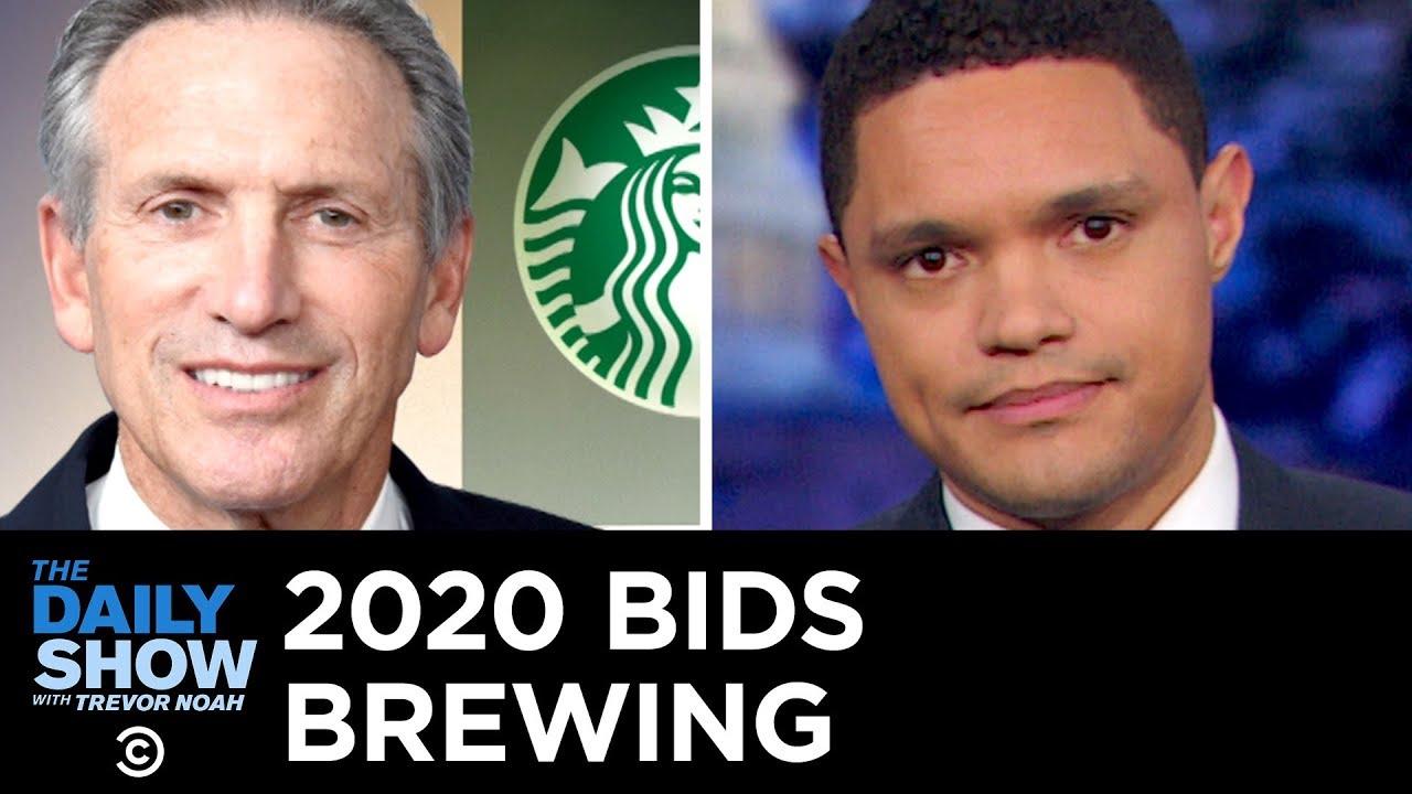 Everyone Hates Starbucks Billionaire Howard Schultz | The Daily Show