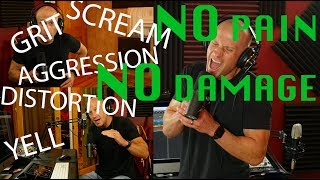 How to Scream, Add Distortion, Yell and Sing Aggressively WITHOUT Hurting Your Voice! (3 Steps)