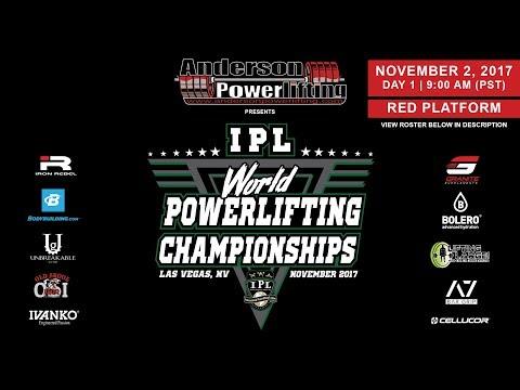 IPL World Powerlifting Championships | Day 1 - Red Platform