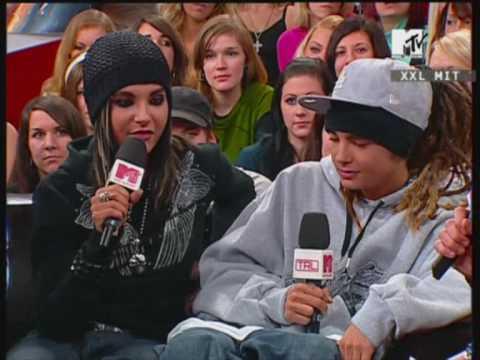 Tokio Hotel interview 2007 @ MTV TRL XXL PART 2