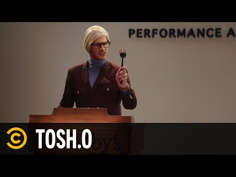 Tosh.0 - Naked Hanging Artist - Web Redemption