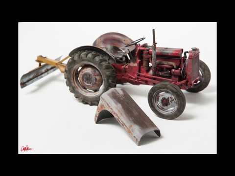 ep148 - build/review of the heller 1/24 ferguson te-20 tractor, pt 2