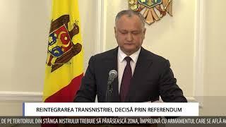 Reintegrarea Transnistriei, decisă prin referendum