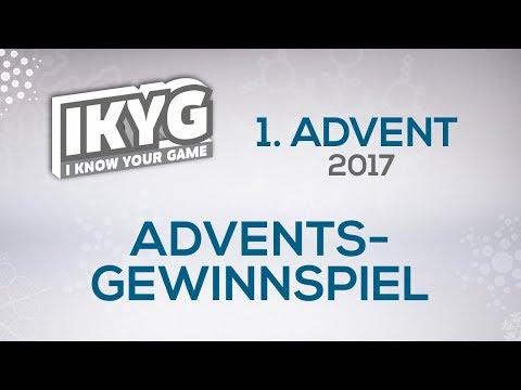 Das IKYG-Advents-Gewinnspiel 2017 - 1. Advent
