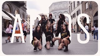 [K-POP IN PUBLIC - ITALY] EVERGLOW - ADIOS DANCE COVER ~ [SUNSET 썬셋 CREW]