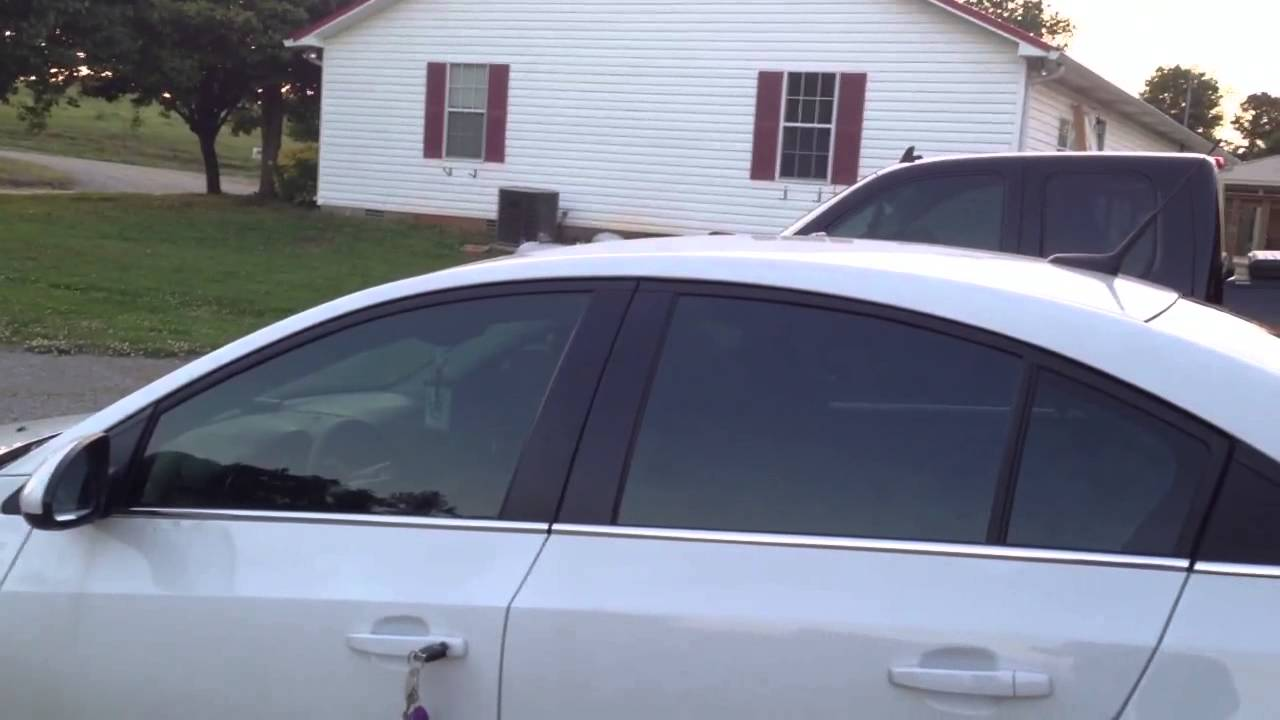 2012 Chevrolet Cruze Tint Job Youtube