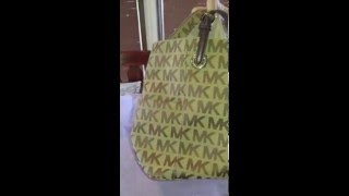 How to clean a Micheal Kors or Coach canvas handbag