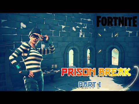 Prison Break Part I | Fortnite Creative | Escape Map