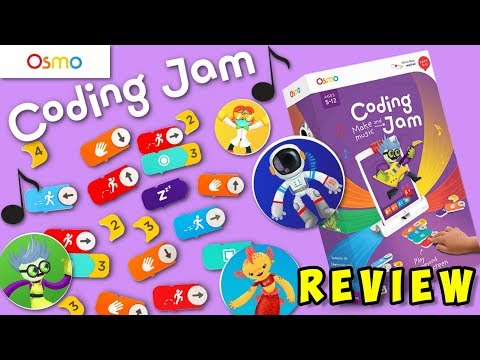Make Your Own Music with Osmo Coding Jam! Coding with Music! Game Review🎮
