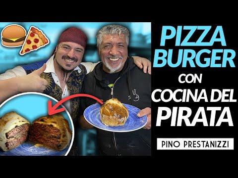 Hago una PIZZA BURGER con @La Cocina Del Pirata  | Pino Prestanizzi
