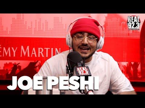 Joe Peshi Drops Bars on REAL 92.3 Freestyle | Bootleg Kev & DJ Hed