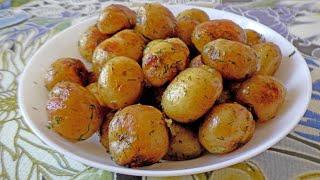 Обязательно попробуйте самый простой рецепт жареной молодой картошки от бабушки