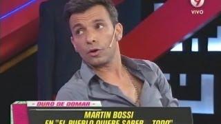 Martín Bossi en Duro de Domar