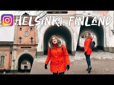 BEST Instagram Locations in HELSINKI, FINLAND