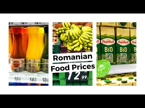 SUPERMARKET PRICES in ROMANIA | I have an obsession for healthy food!