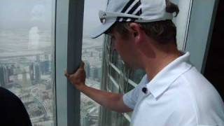 Burj Khalifa and Ski Dubai: adidas Golf Wear in the World-The Ultimate Job Interview