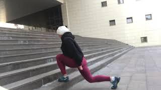 Плиометрический выпад со сменой ног