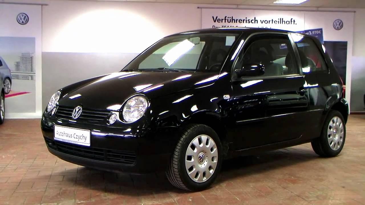 volkswagen lupo princeton 2003 automatik uni schwarz 4b006888 youtube. Black Bedroom Furniture Sets. Home Design Ideas