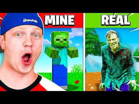 Reacting To Minecraft